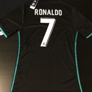 new product 53a11 dabb6 Real Madrid Cristiano Ronaldo 2018 Third Jersey NWT